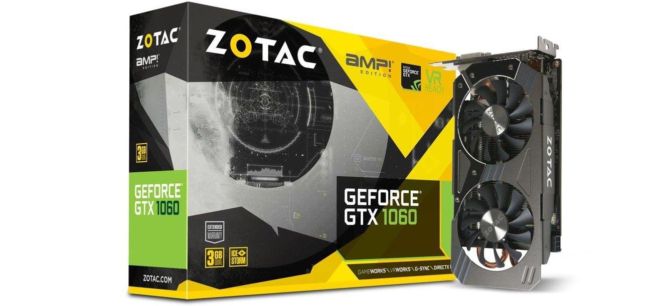 Karta graficzna Zotac GeForce GTX 1060 AMP! Edition 3GB