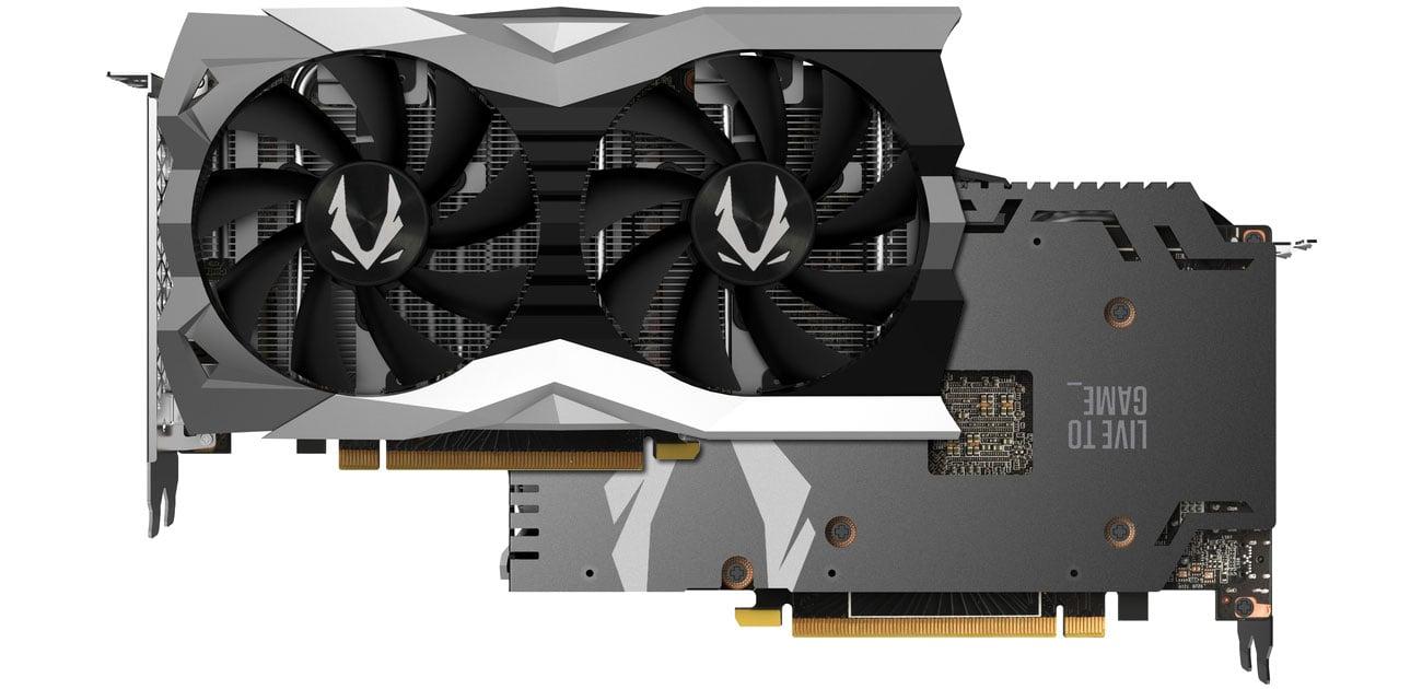 Zotac GeForce RTX 2060 TWIN FAN Chłodzenie