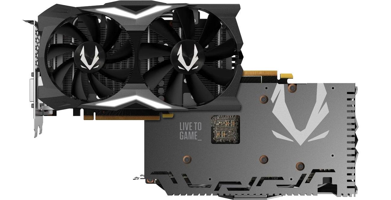 Zotac GeForce RTX 2070 MINI Dwa wentylatory, backplate
