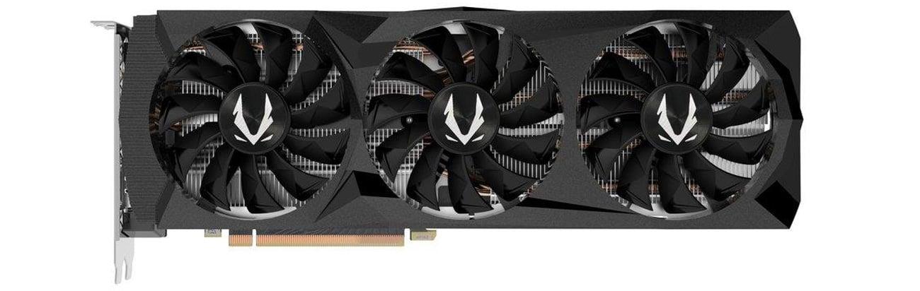 Zotac GeForce RTX 2080 AMP 8 GB wentylatory