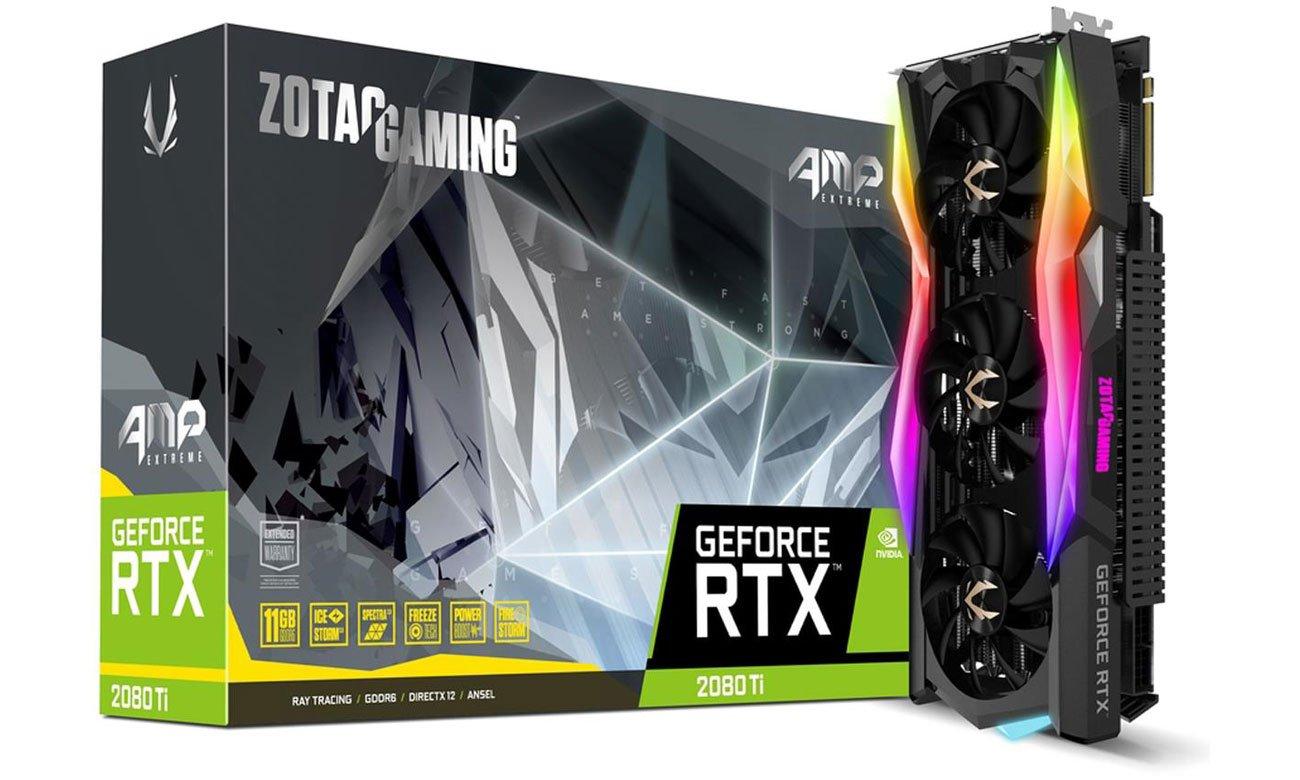 Karta graficzna NVIDIA Zotac GeForce RTX 2080 Ti AMP Extreme 11GB GDDR6 ZT-T20810B-10P