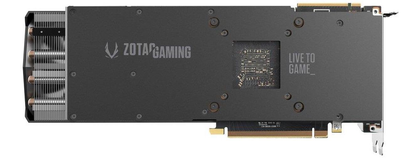 Zotac GeForce RTX 2080 Ti AMP 11GB tył