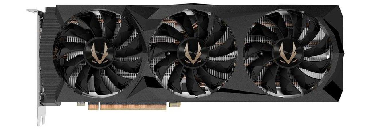 Zotac GeForce RTX 2080 Ti AMP 11GB wentylatory