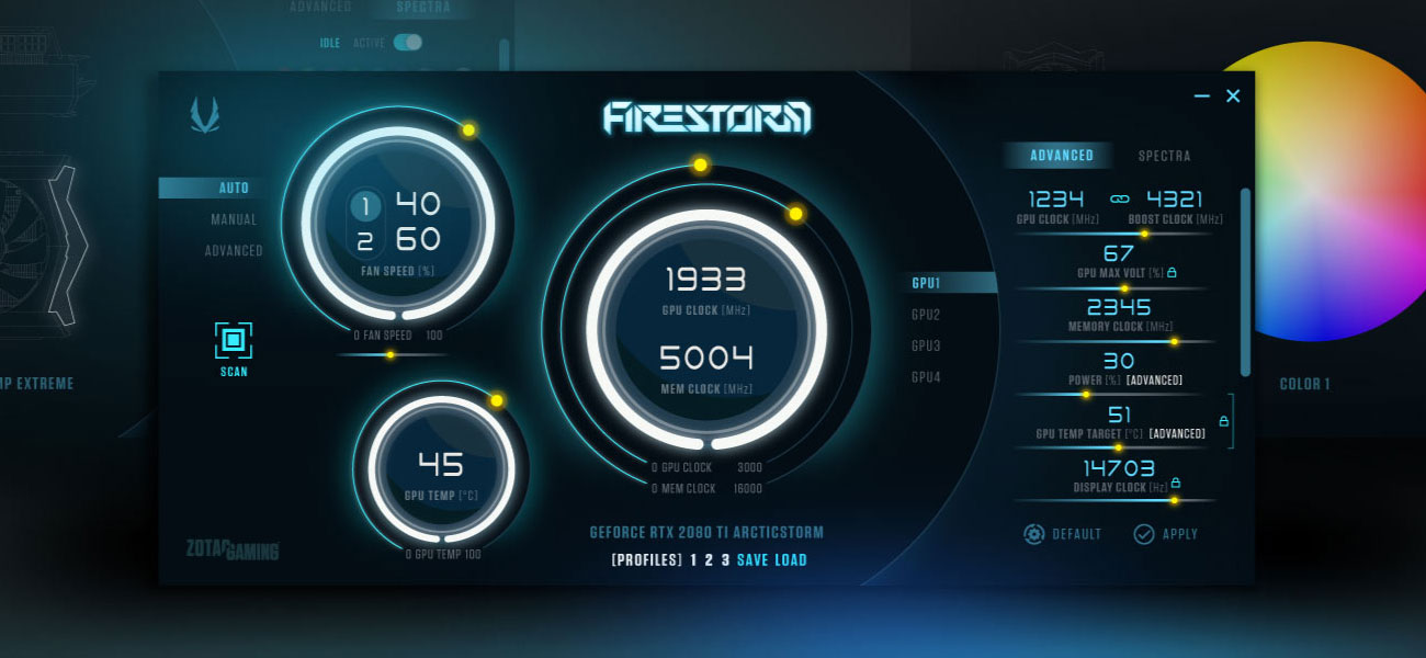 Zotac GeForce RTX 2080 SUPER 8GB GDDR6 Chlodzenie