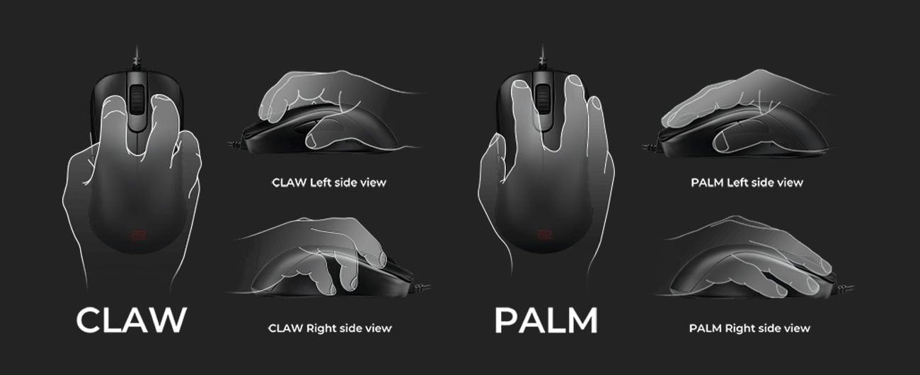 Mysz dla graczy Zowie S1 czarna