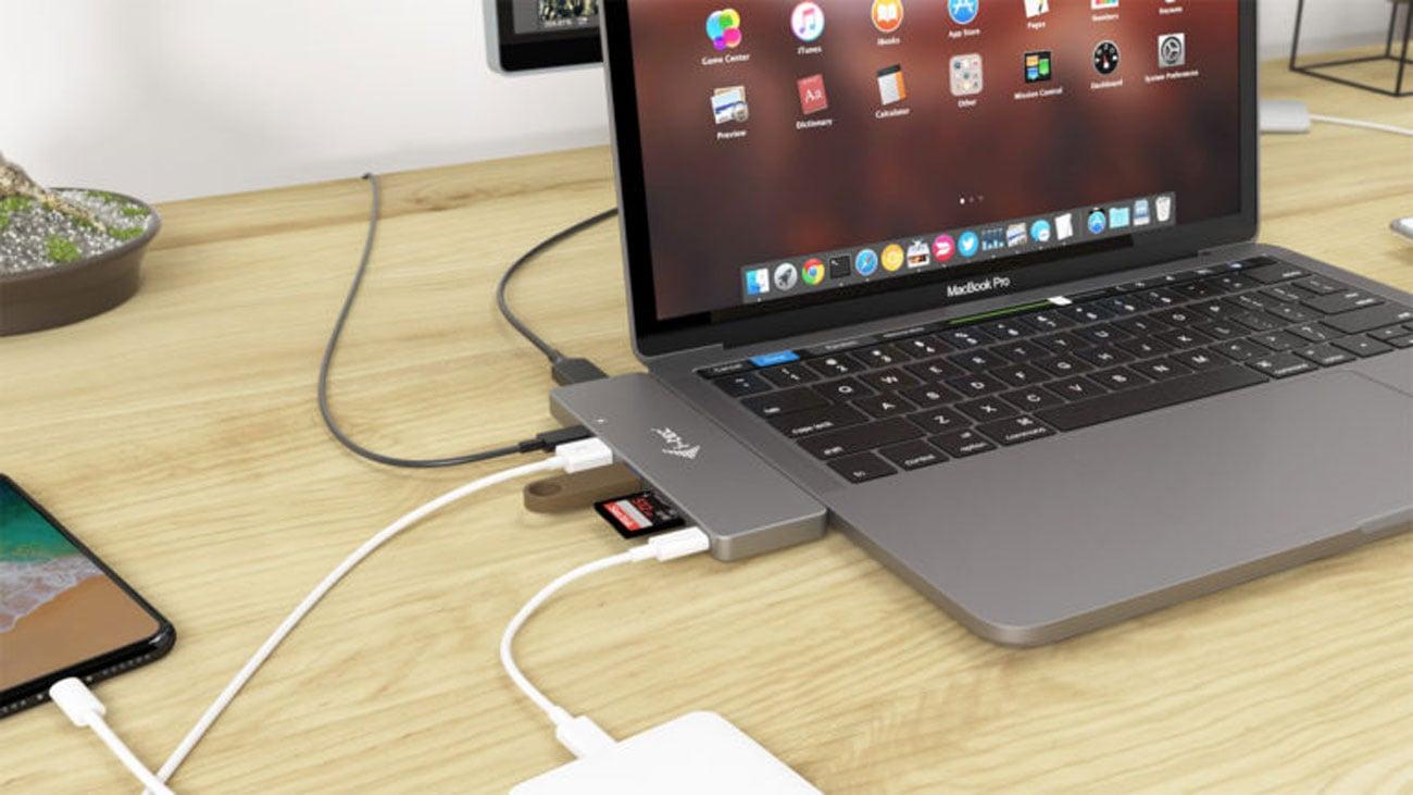 Podłącz 2 monitory do Macbooka Pro