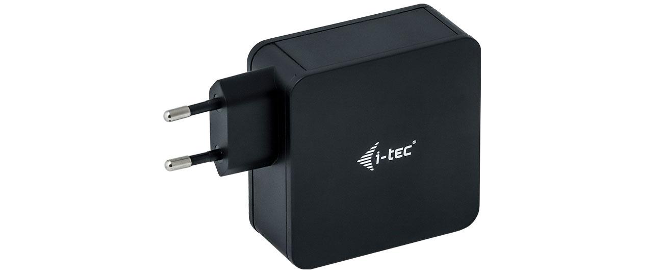 Ładowarka do smartfonów i-tec USB-C 60W USB 12W CHARGER-C60WPLUS