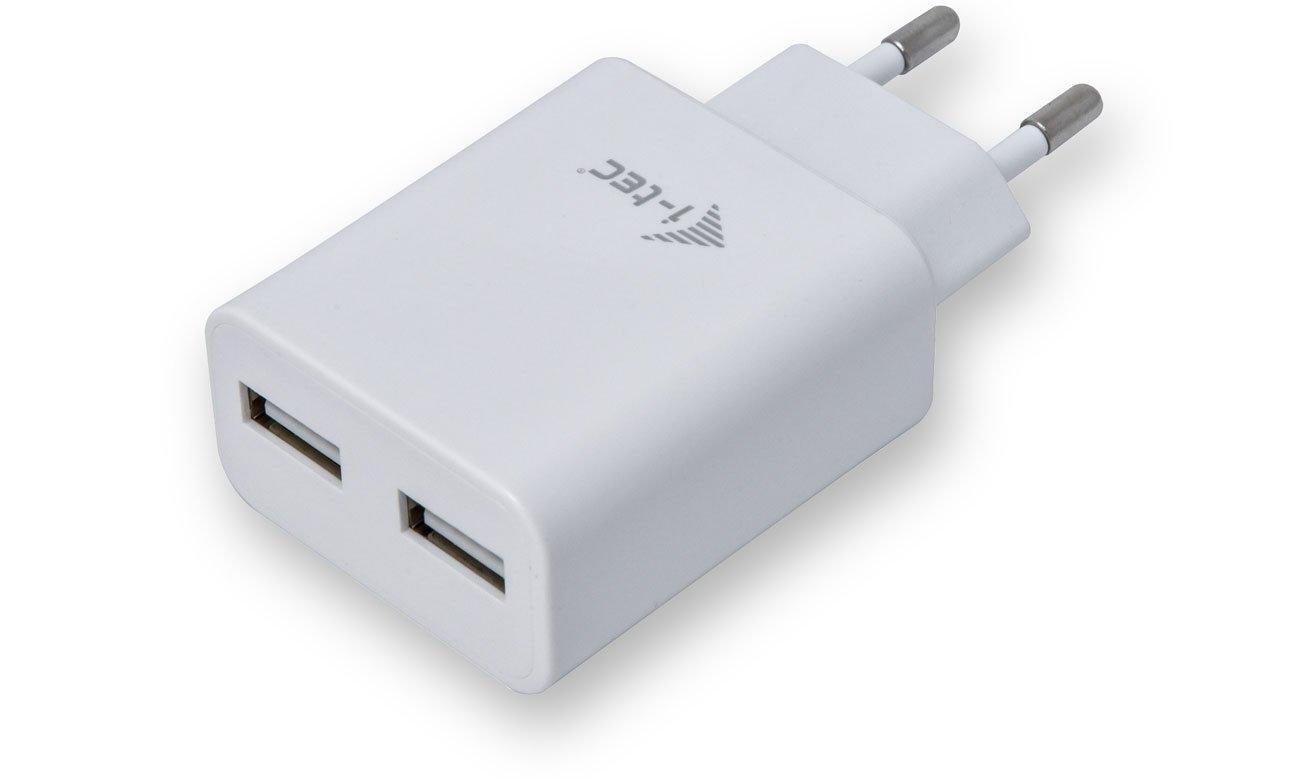Ładowarka sieciowa i-tec USB PowerCharger 2x USB