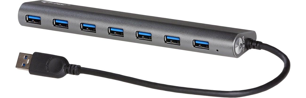 i-tec Hub USB - 7x USB (Ładowanie)
