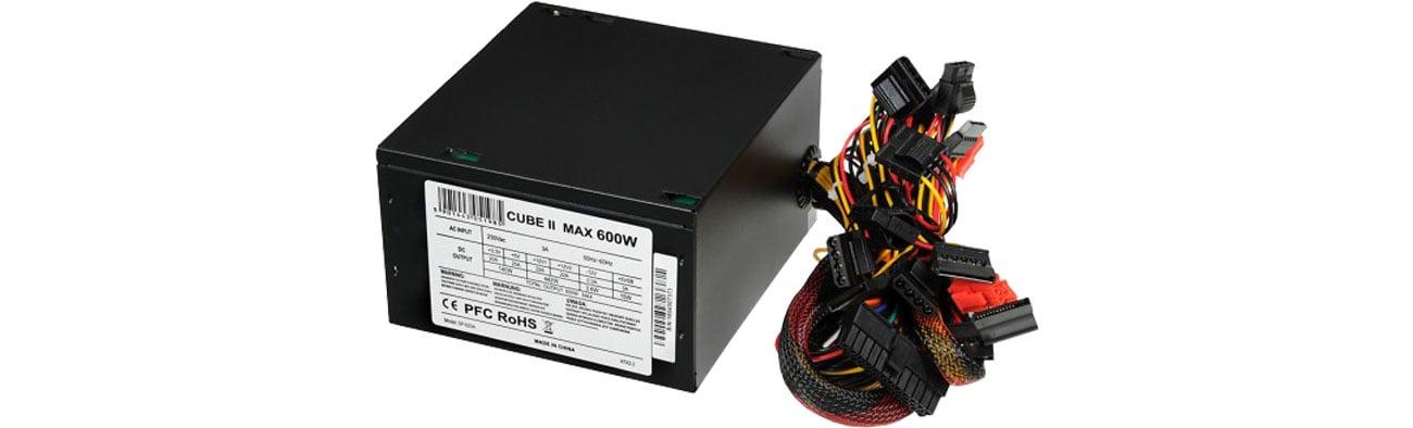 Zasilacz do komputera iBOX Cube II 600W