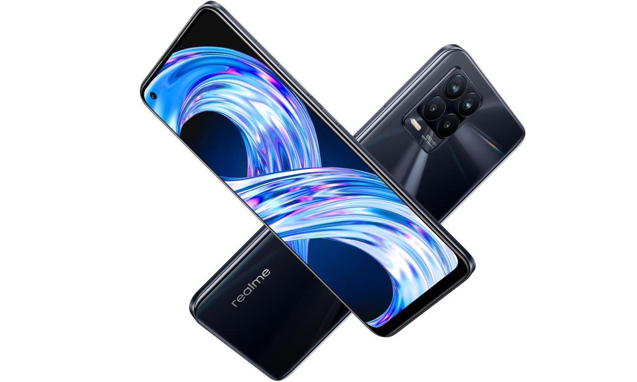 Smartfon  realme 8 Pro ekran