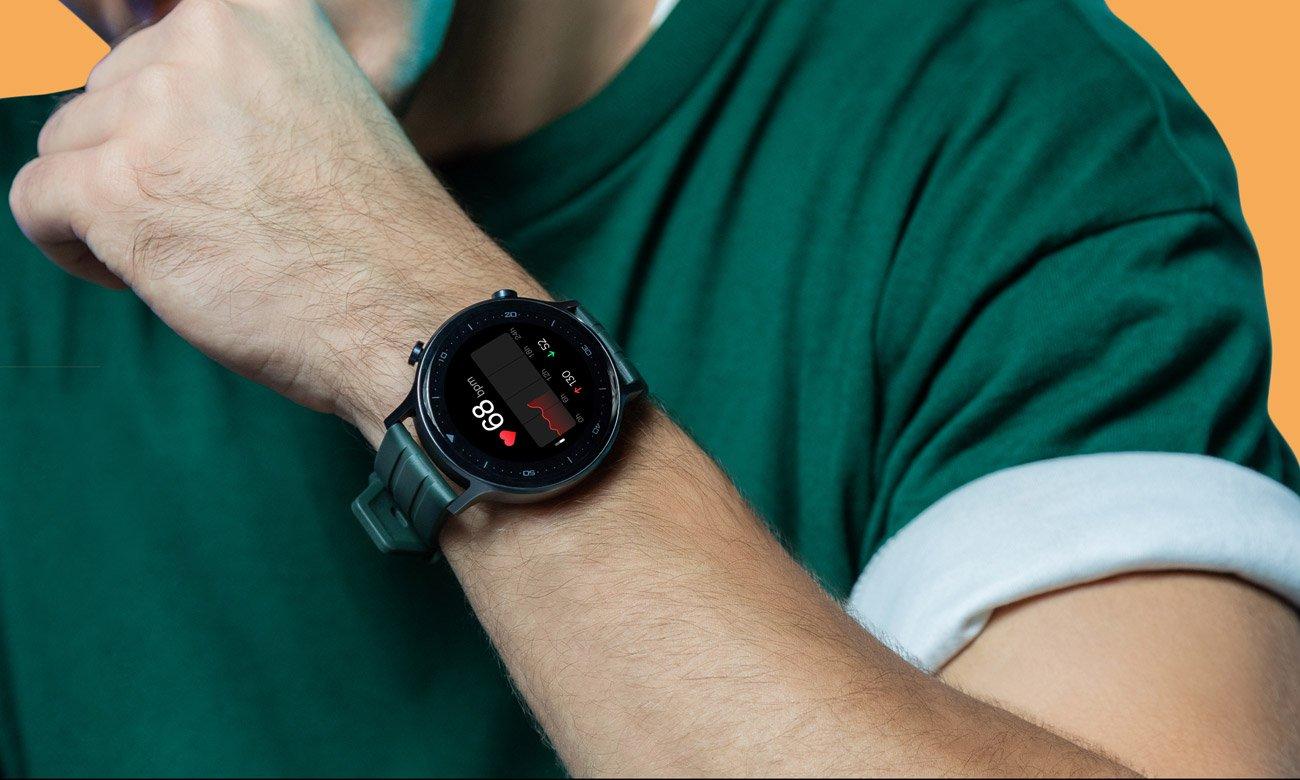 Watch S pomiar tętna i poziomu natlenienia krwi