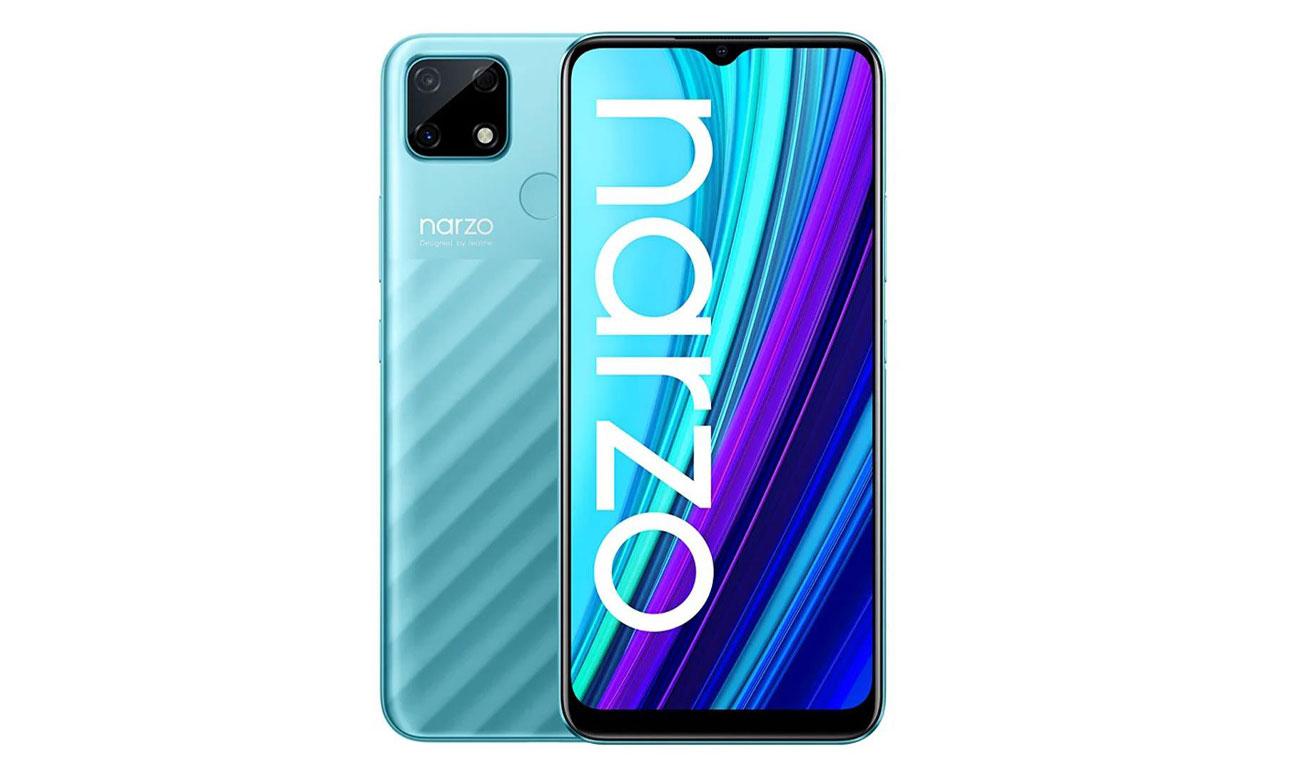 realme narzo 30A 32 GB blue