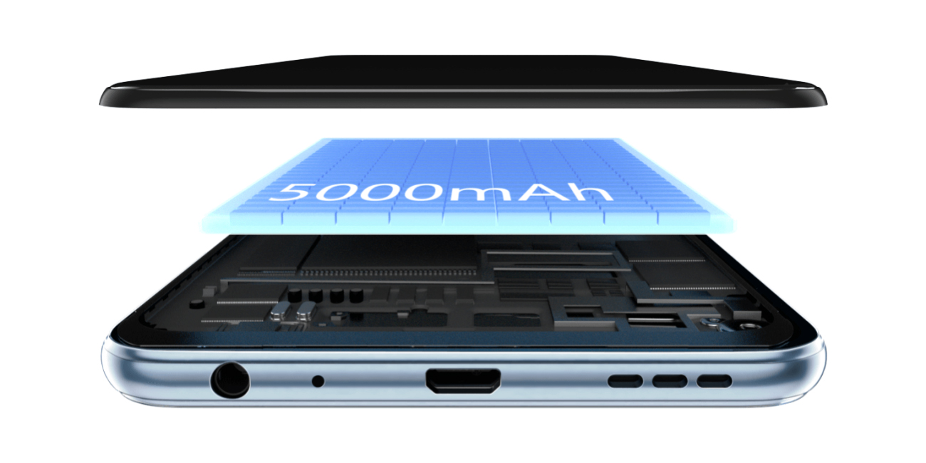 Bateria o pojemności 5000 mAh w Vivo