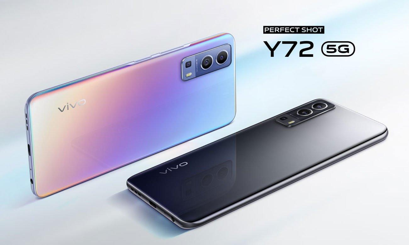 Vivo Y72 5G 128 GB Dream Glow wysoka wydajność
