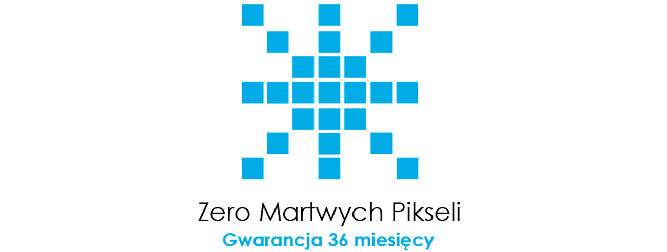 ASUS Zero Bright Dot - Zero Martwych Pikseli Gwarancja 3 Lata