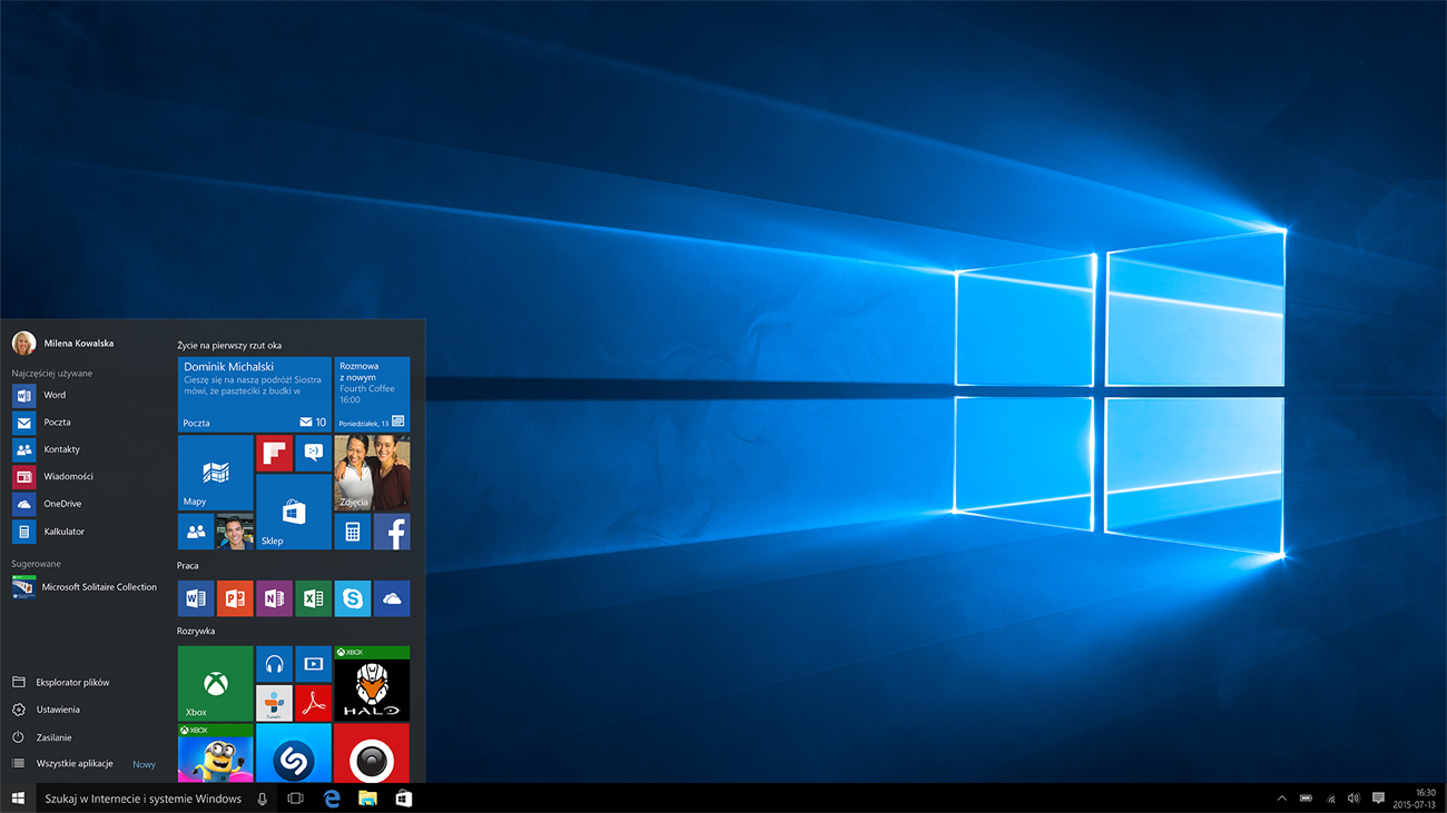 Windows 10 Home w hp envy 17