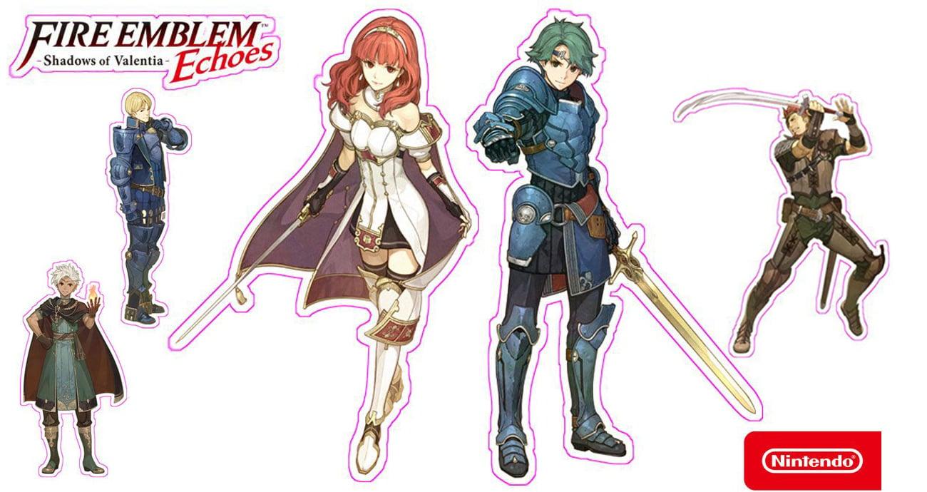Nintendo 3ds Fire Emblem Echoes Shadows Of Valentia Gry Na 3dsfire Shadow Dwie Armie Z Jednym Celem