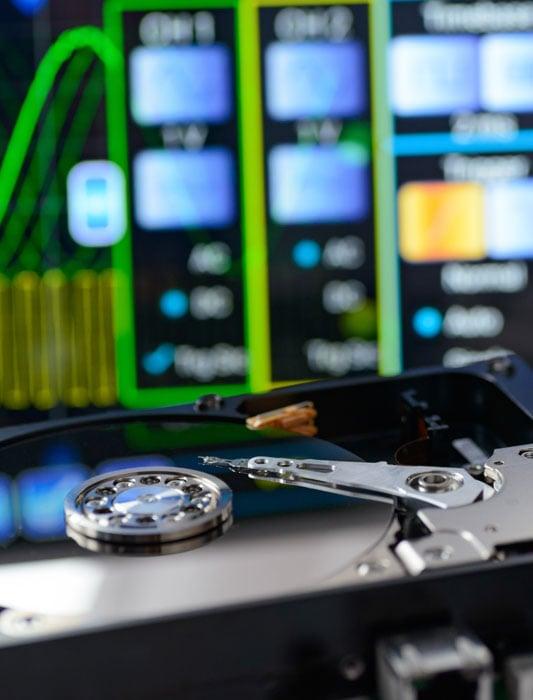 Die Festplatte mit Kapazität von 6 TB WD HDD Blue 3,5 Zoll 2.0 TB 5400 64MB SATA